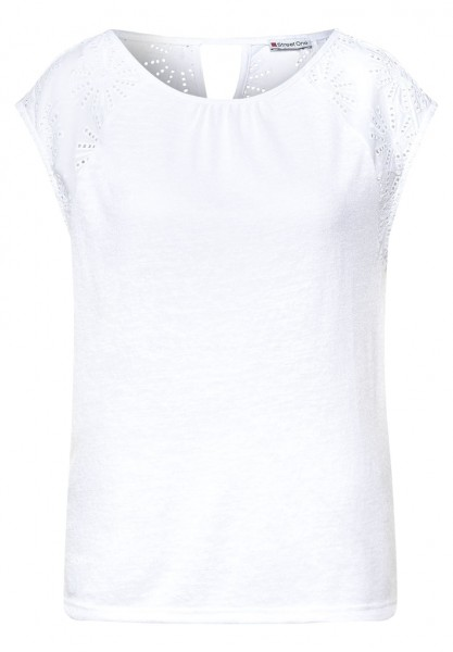 Street One embroidered Top
